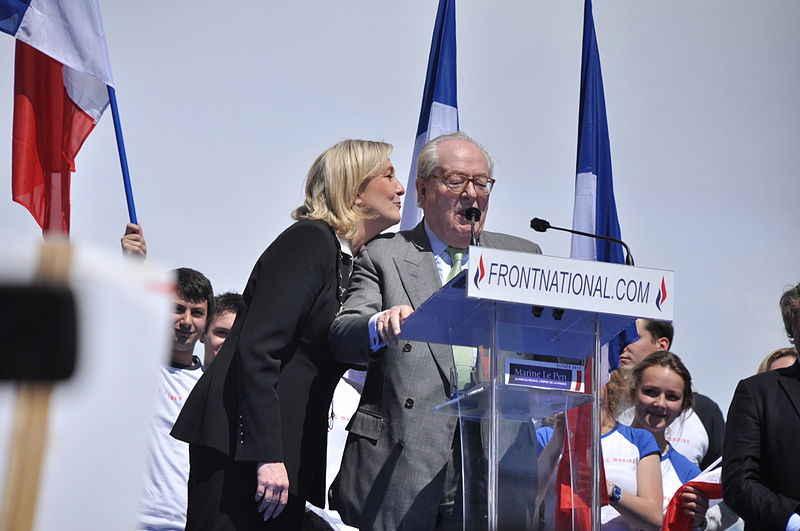 Le Front National devient Rassemblement National
