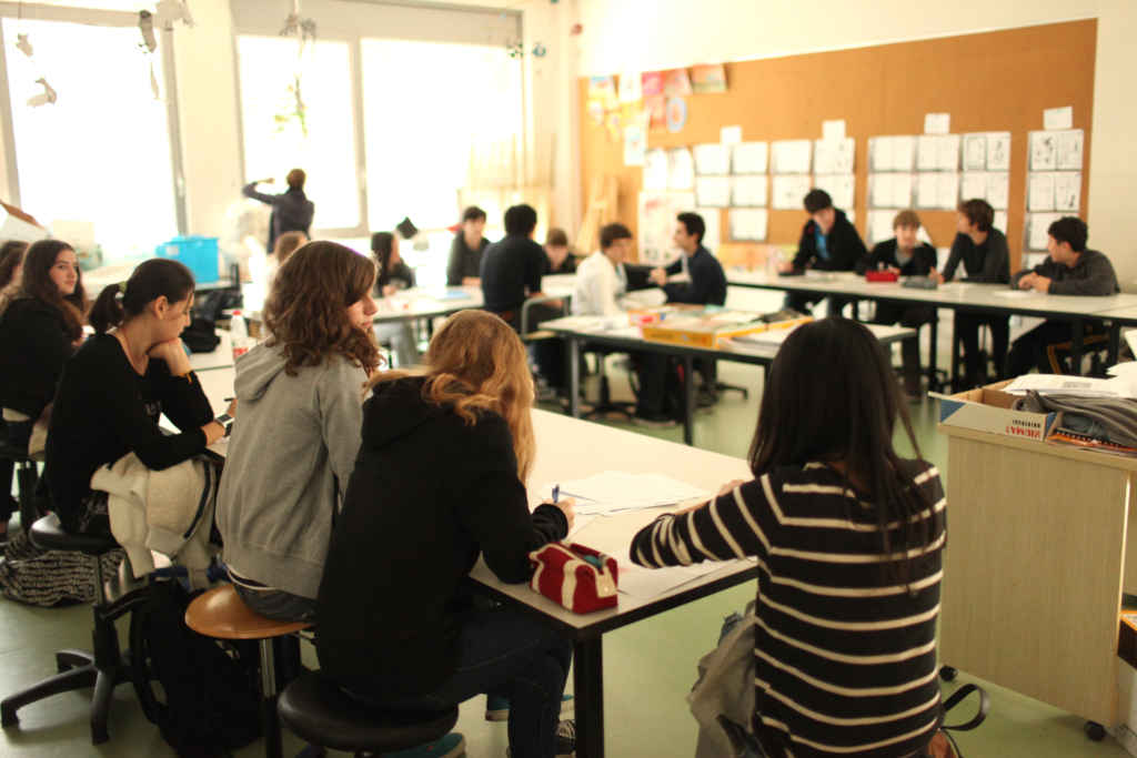 ecole eleves immersion francais