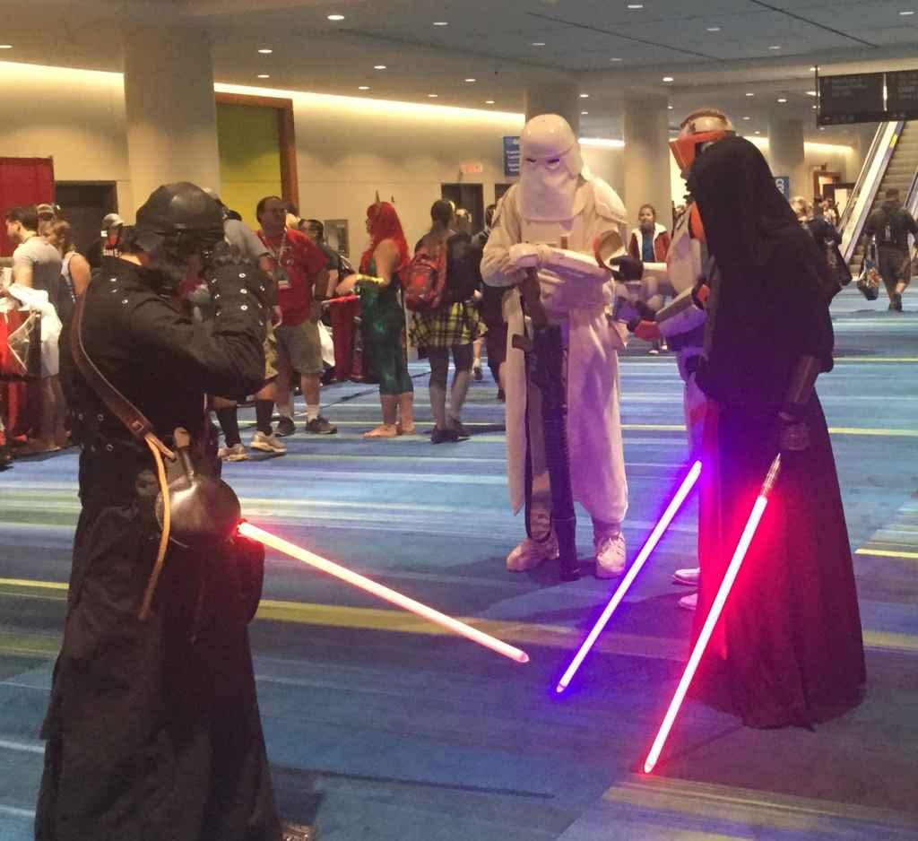 star wars, duel
