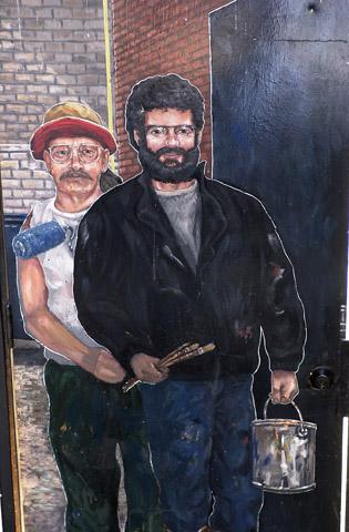 Pierre Hardy et René St-Pierre