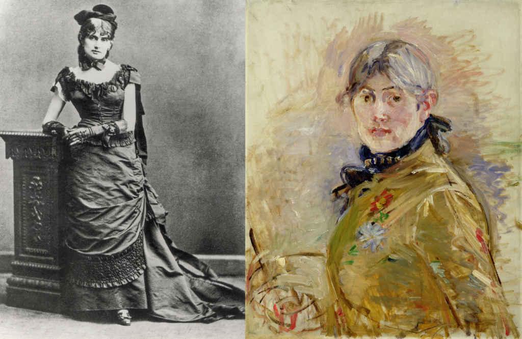 Berthe Morisot Rare Femme Impressionniste