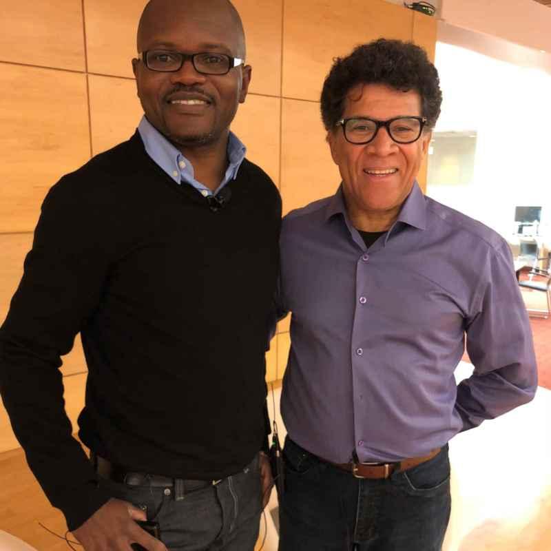 Blaise Ndala et Gabriel Osson