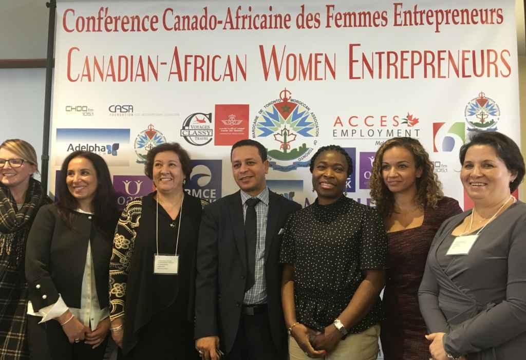 Conférence des femmes entrepreneures canado-africaines