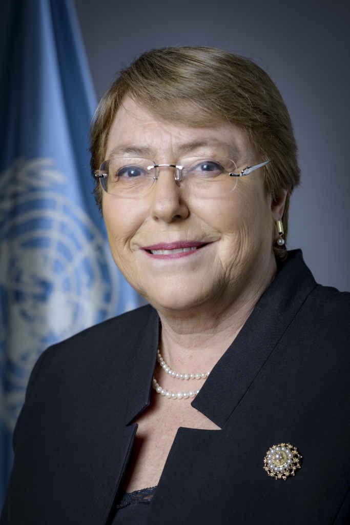 Michelle Bachelet, Haute‑Commissaire des Nations Unies aux droits de