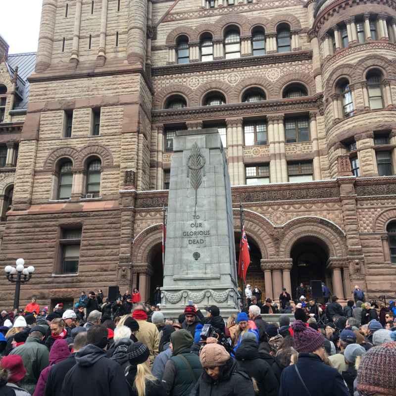 Centenaire armistice Jour du souvenir 2018