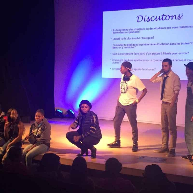 Dialogue interculturel entre jeunes francophones