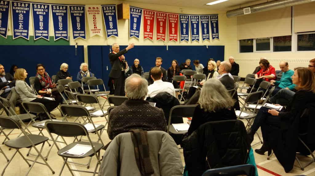 Au Lycée française de Toronto