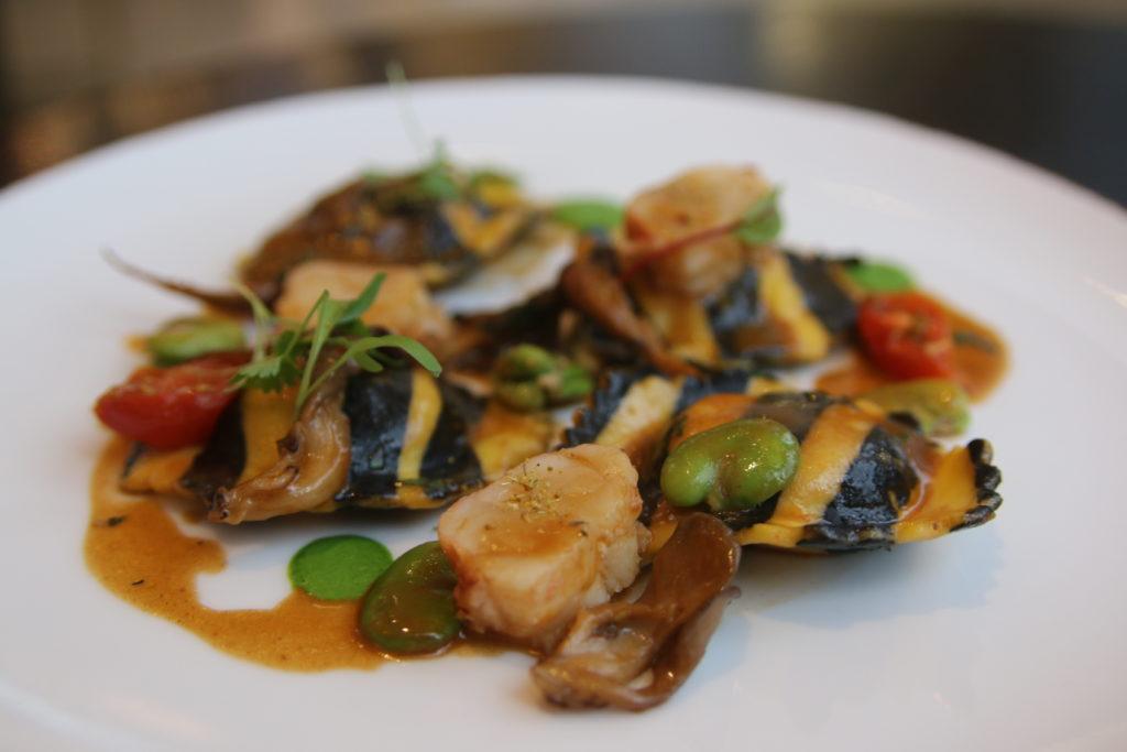 raviolis de homard