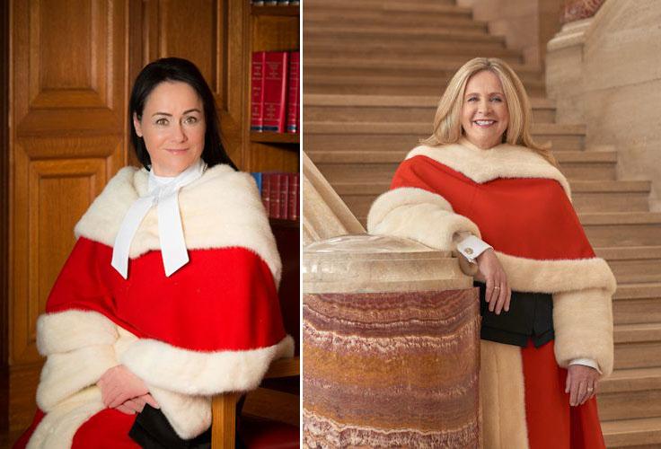 Les juges Suzanne Côté et Sheilah L. Martin