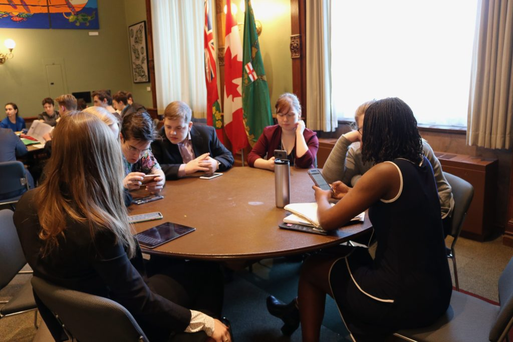 Les jeunes franco-ontariens en caucus