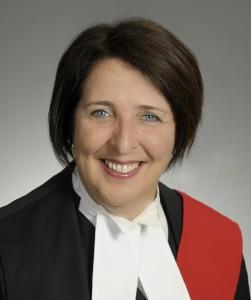 Lise Maisonneuve, juge en chef, Cour de justice de l'Ontario