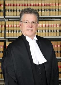 Richard Chartier, juge en chef du Manitoba