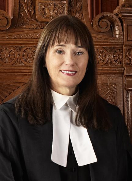 Alexandra Hoy, juge en chef adjoint de l'Ontario