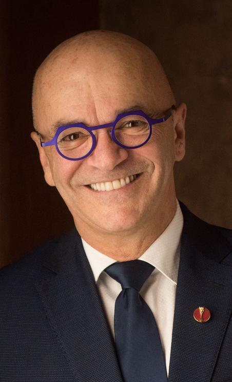 René Cormier, président du Comité sénatorial permanent des langues officielles.