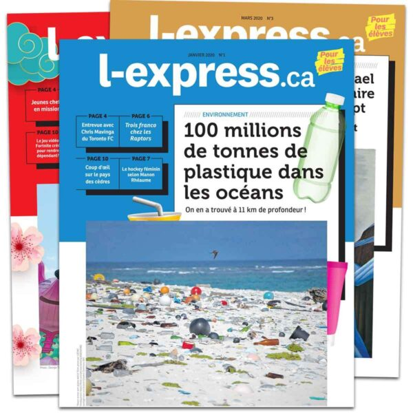 Magazine jeunesse: l-express.ca pour les élèves