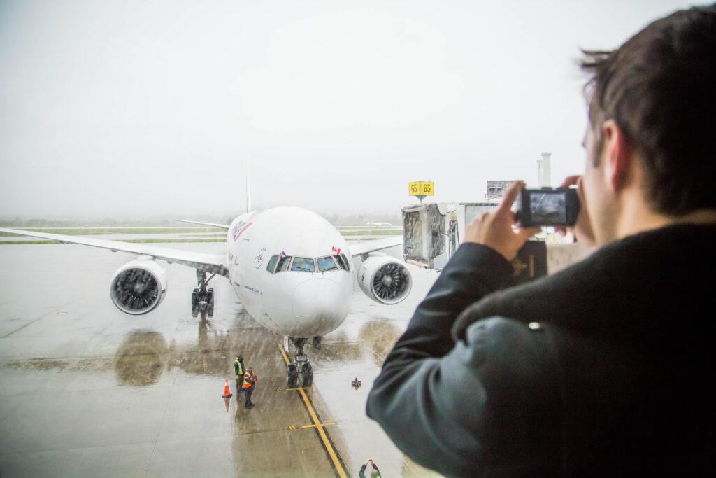 2015.03.29 YVR 1er vol YVR first flight