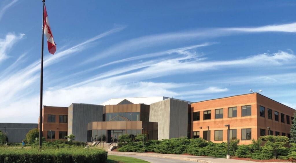 Le campus du Canada Christian College à Whitby.