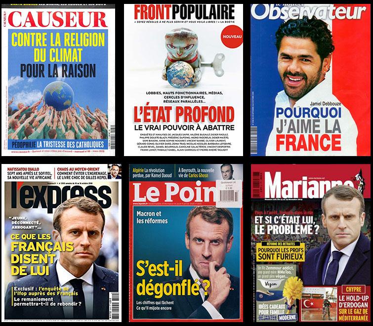 Magazines français