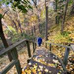 Access to Magwood Park from Baby Point Rd #torontourbanstrolls #32 in Toronto Best Urban Strolls by Nathalie Prezeau