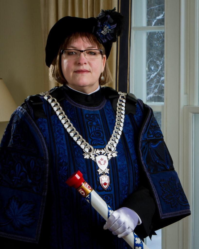 Claire Boudreau héraut d'armes autorité héraldique