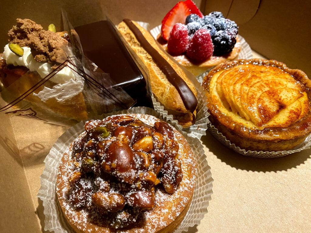 Decadent treats from Patisserie 27 #torontourbanstrolls #32 in Toronto Best Urban Strolls by Nathalie Prezeau
