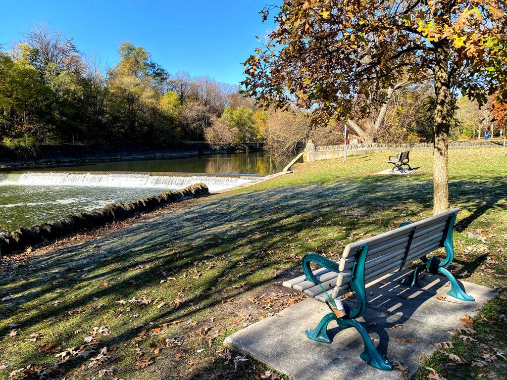 Humber River by Magwood Park #torontourbanstrolls #32 in Toronto Best Urban Strolls by Nathalie Prezeau
