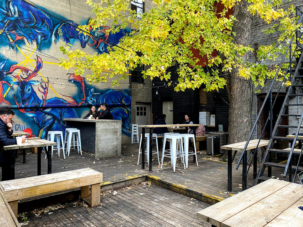 Boxcar Social parc David A. Balfour STROLL 15 in Toronto Best Urban Strolls by Nathalie Prezeau