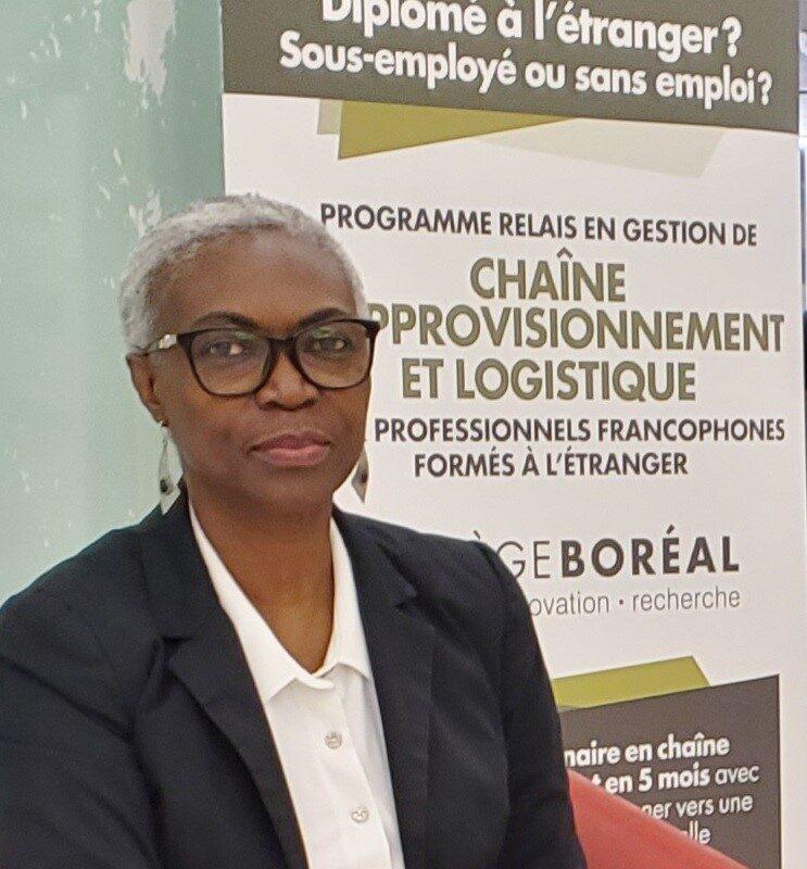 Florence Moreira, immigration, Collège Boréal,