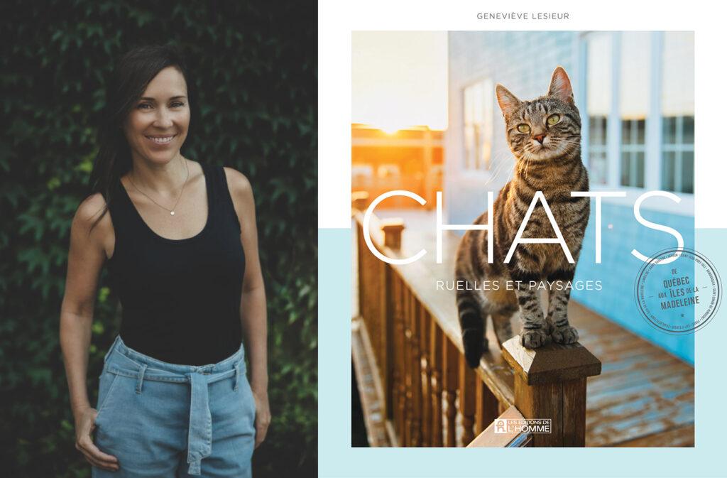 Geneviève LeSieur, Chats, ruelles et paysages: de Québec aux Îles-de-la-Madeleine