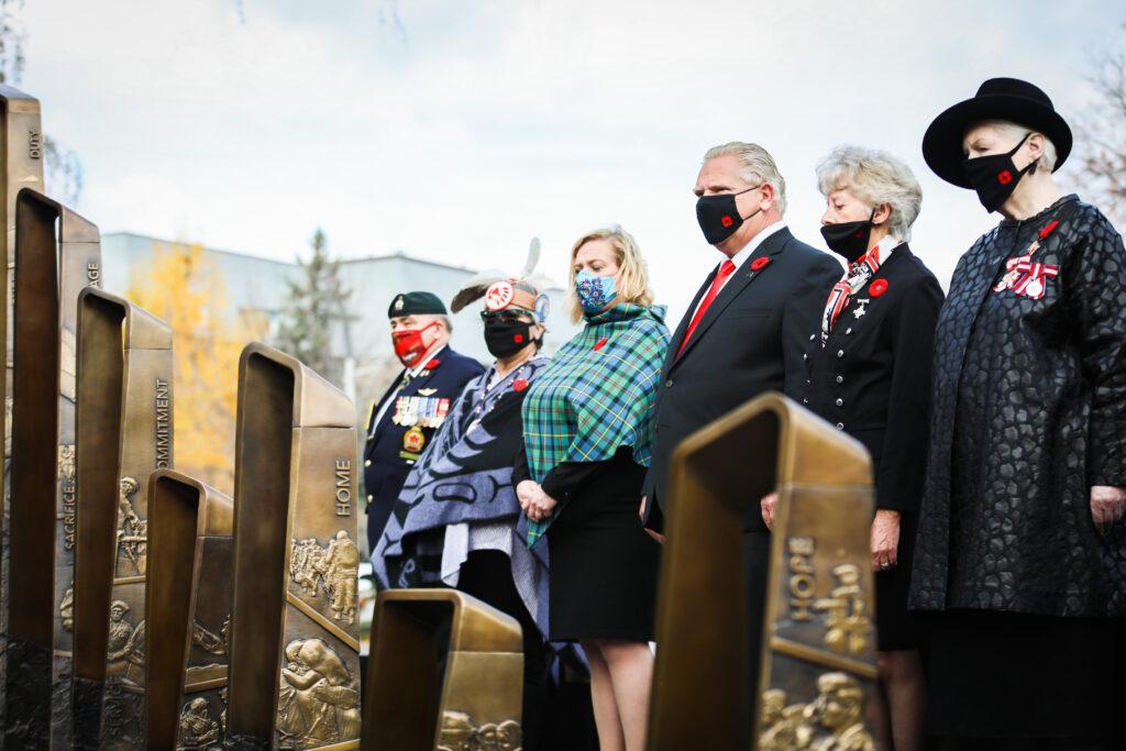 Ontario Queen's Park Monument commémoratif en l'honneur des héros canadiens de la guerre en Afghanistan