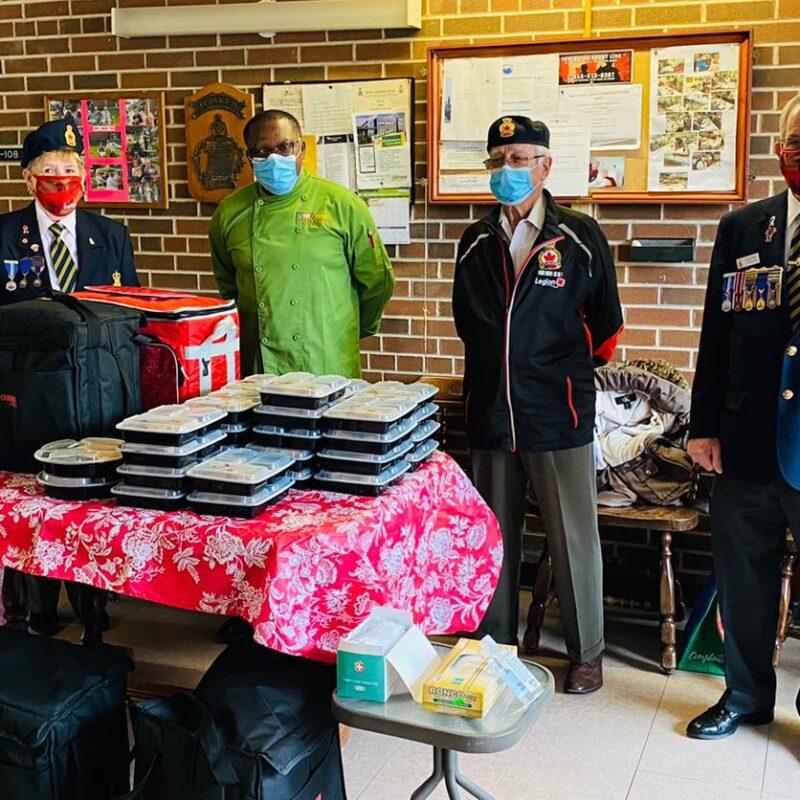 Guy Dongué anciens combattants vétérans repas