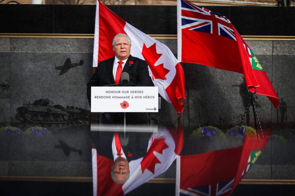 Souvenir Ontario Queen's Park Monument commémoratif en l'honneur des héros canadiens de la guerre en Afghanistan