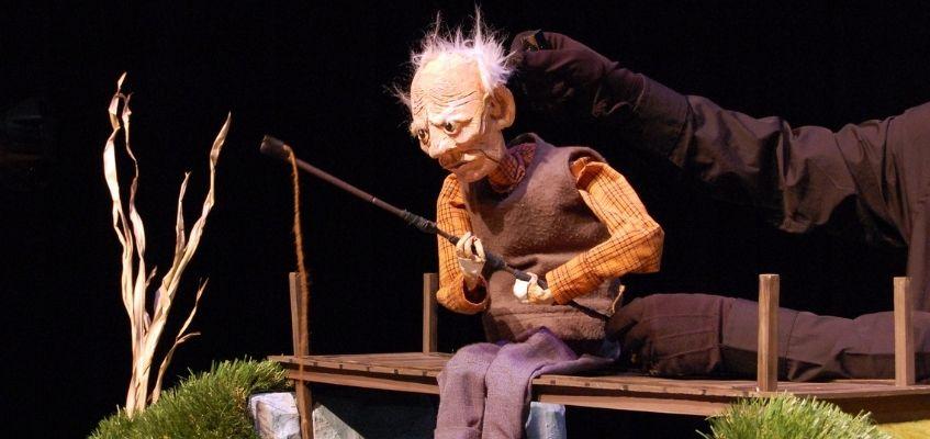 Le vieil homme et la rivière AFT WeeFestival marionnettes
