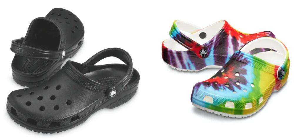 inventions L'entreprise fabrique aujourd'hui une grande variété de sandales Crocs.