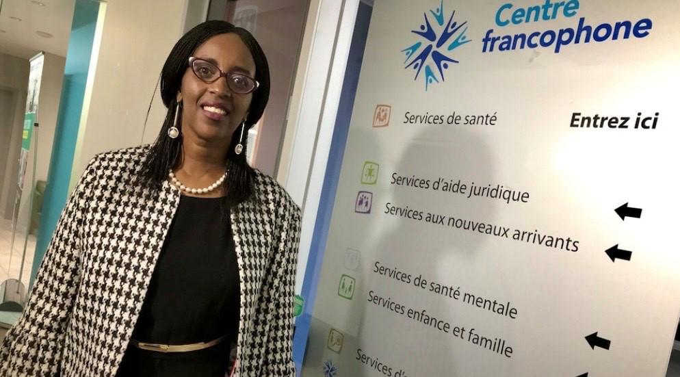 Florence Ngenzebuhoro, directrice générale du Centre francophone du Grand Toronto (CFGT).