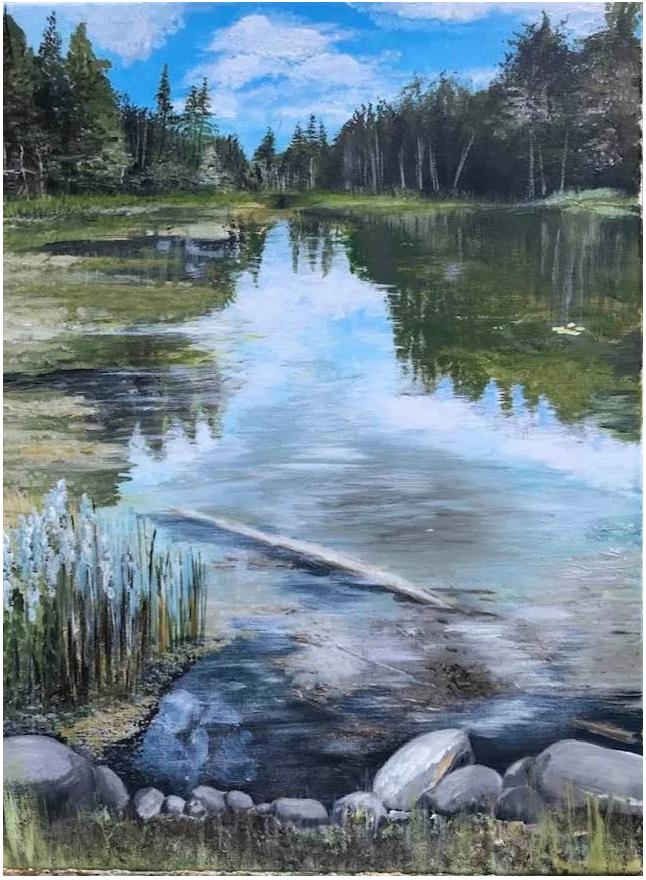 Josette Bouchard Joz art & nature peintre peinture