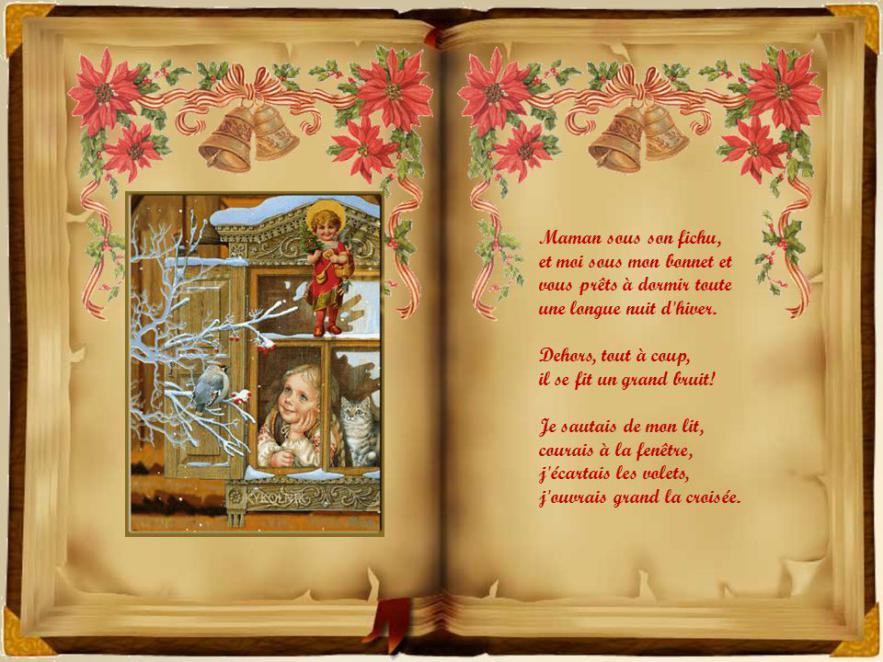 poème «A visit from St. Nicholas», de Clement Clarke Moore, La nuit avant Noël