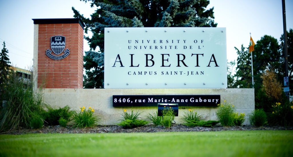 Alberta expansion du Campus Saint-Jean