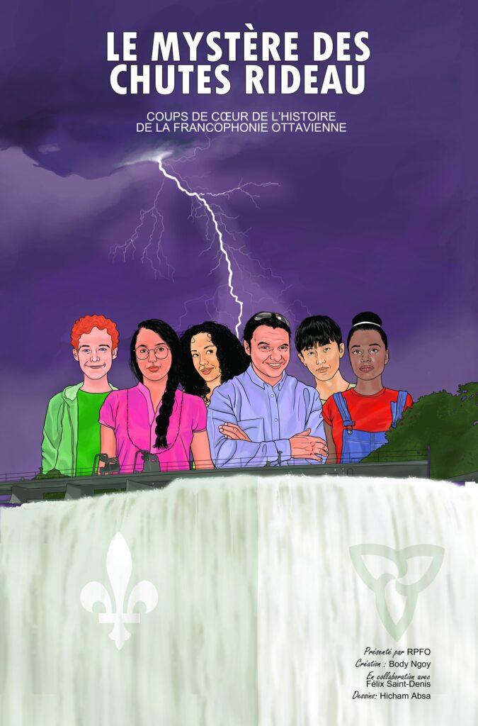 Bande dessinée Ottawa Le mystère des chutes Rideau