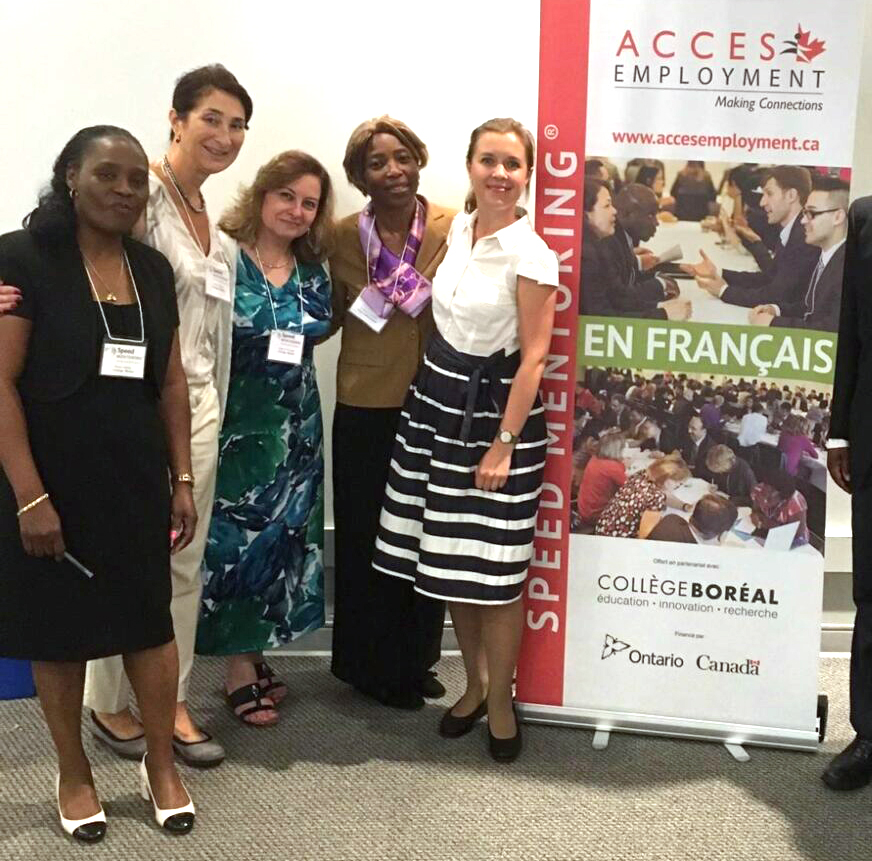 Speed Mentoring ACCES Employment Collège Boréal