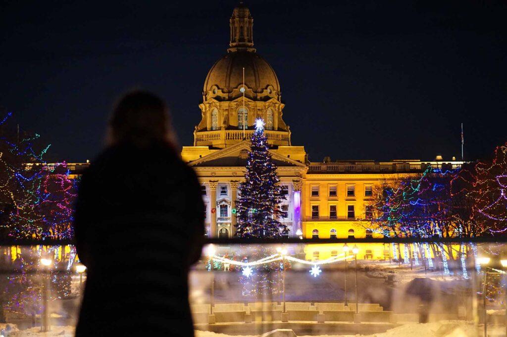 L'édifice de l'Assemblée législative de l'Alberta.
