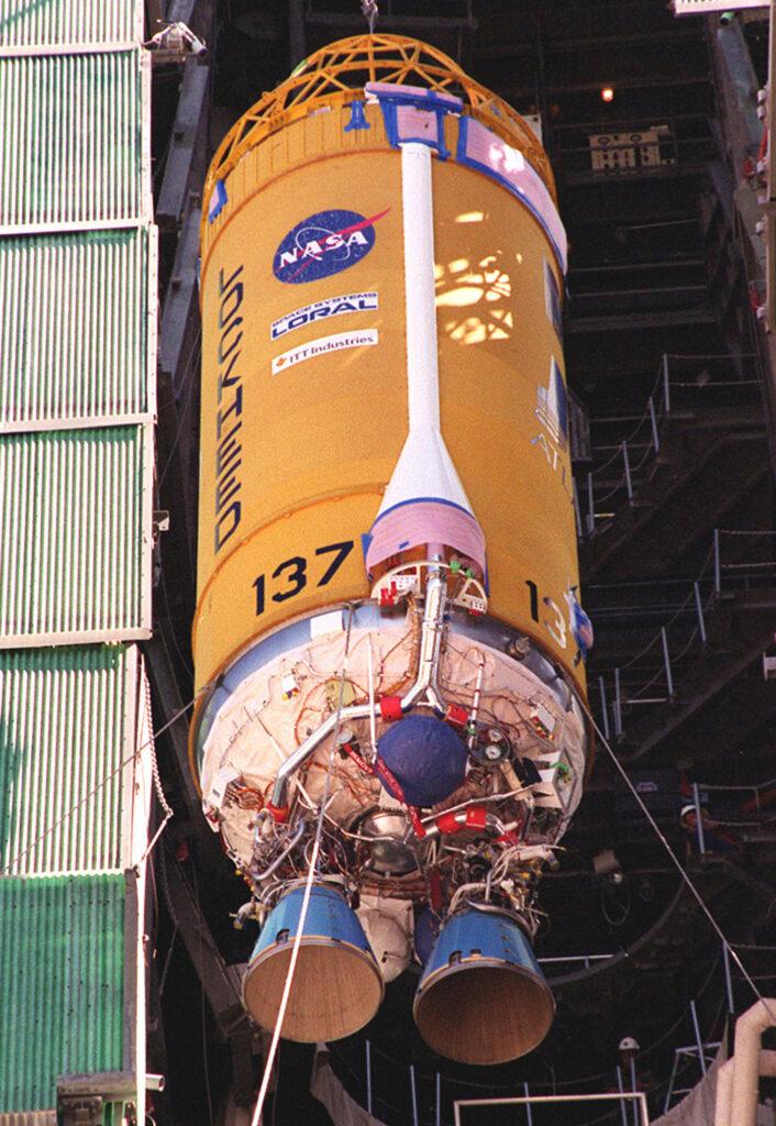 Centaur_rocket_stage fusée NASA
