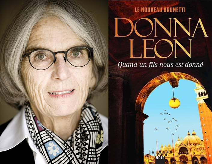 livre Donna Leon, Quand un fils nous est donné