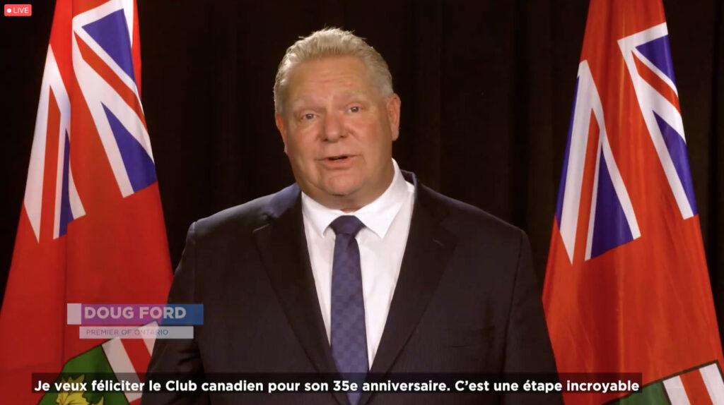 Club canadien de Toronto 35e