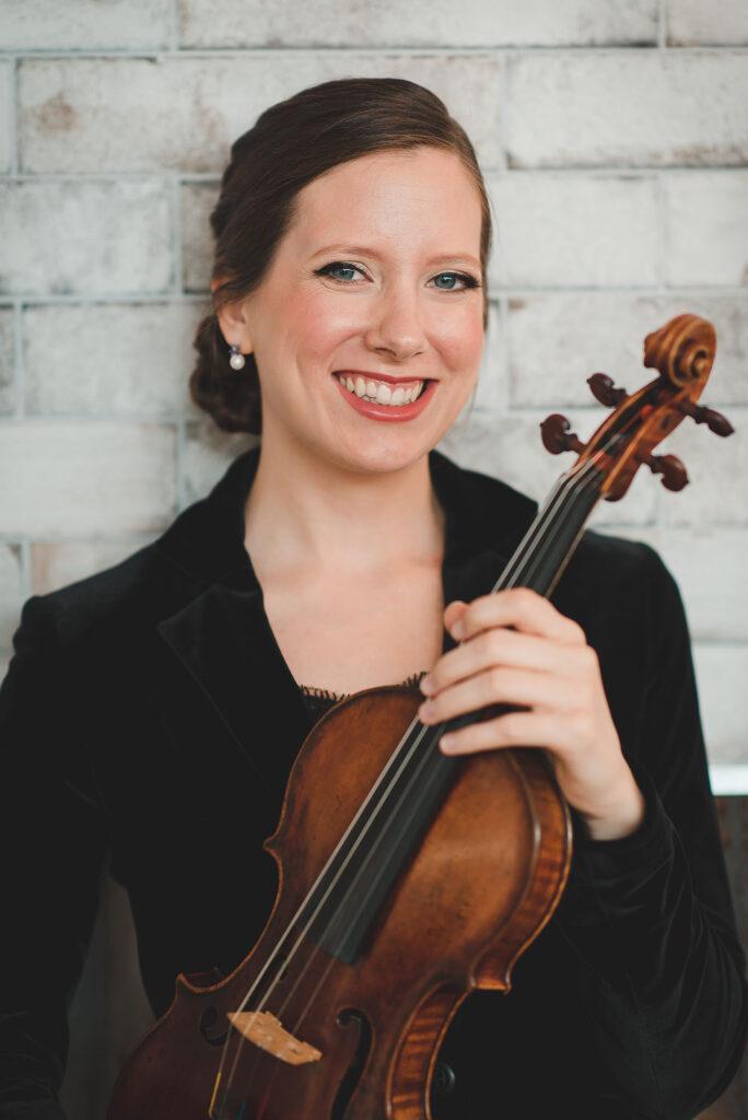 Bénédicte Lauzière, premier violon