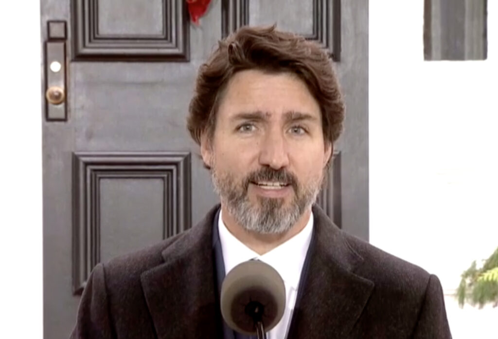 Énoncé économique fédéral réactions déficit finances Justin Trudeau