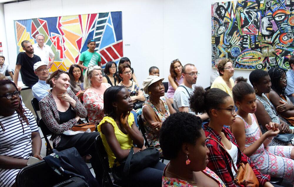 7e Salon du livre haïtien Gabriel Osson