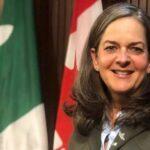 La commissaire aux services en français de l'Ontario, Kelly Burke