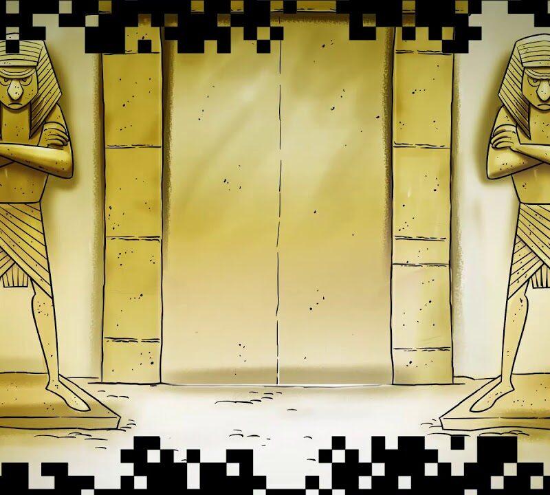 Escapades virtuelles, Sueurs froides au pays des momies BD