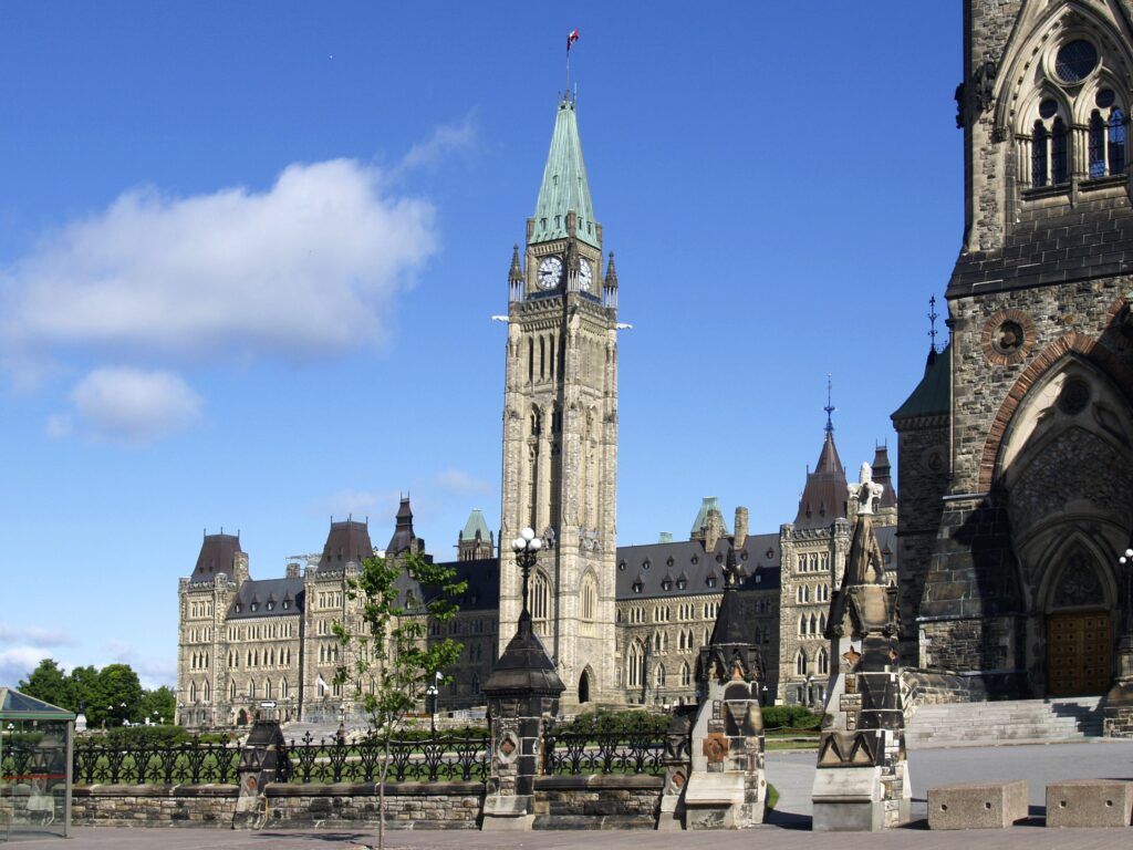 Parlement canadien canada Ottawa